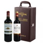 法国进口名庄干红葡萄酒礼盒(中粮原瓶进口)
