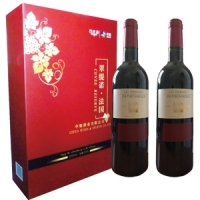 中粮—法国进口翠缇若干红葡萄酒礼盒