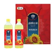 中粮塔原红花籽调和油礼盒1.8L