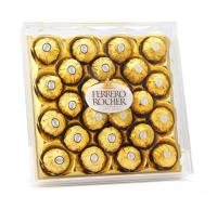 意大利进口 费列罗 榛果威化巧克力钻石装24粒300g