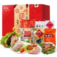 天福号天福迎春熟食礼盒1850g
